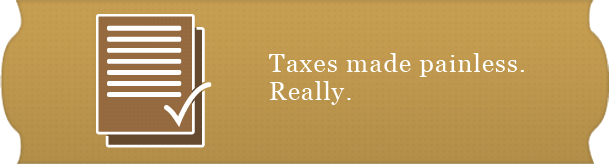 taxes made painless. really.